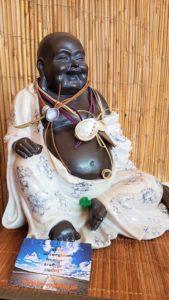 Buddha bei die Fische - LOS-Kai und seine Arbeits-Haltung.